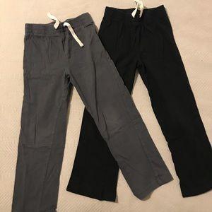 2 pair of lightweight cotton pants. 5T